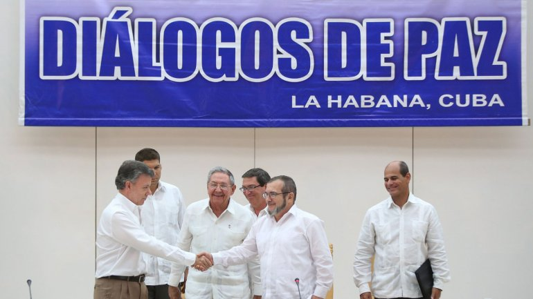 Colombia's transformation : present political and economic context;Conférence-midi