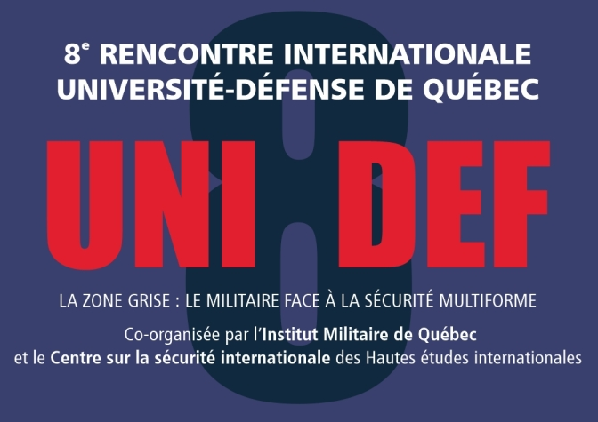 8e rencontre internationale Université-Défense de Québec