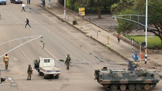Zimbabwe tombe sous le contrôle de ses forcesarmées
