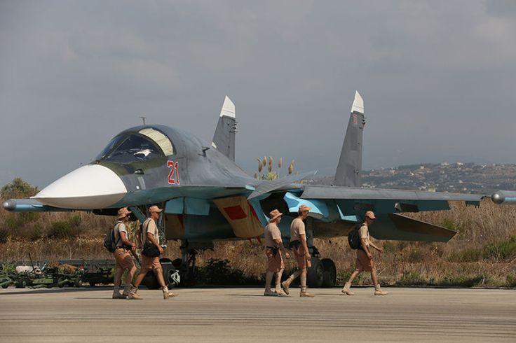 Un Sukhoi Su-34 russe déployé en Syrie